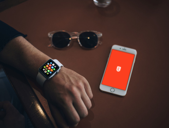 mockups Apple Watch